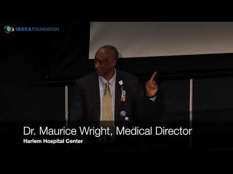 Dr Maurice Wright, Medical Director of Harlem Hospital Center