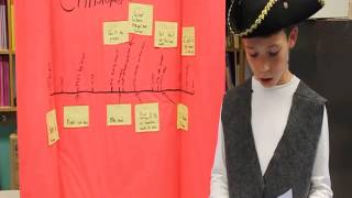 Christopher Columbus by a 4th grader