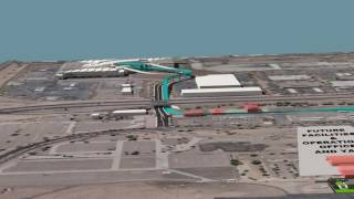 PHX Sky Train - Stage 2 Flyover Video