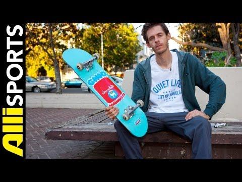 Chris Roberts Chocolate Skateboard, Autobahn Wheels + Bones Setup, Alli Sports