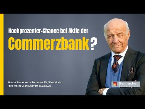 Wie Sind Die Chancen Für Die Commerzbank-Aktie?
