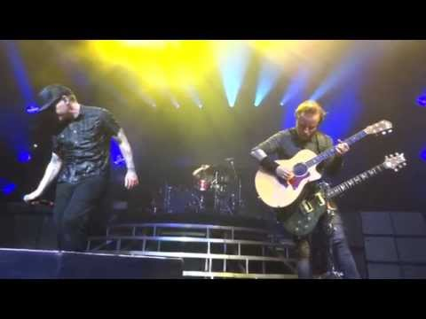 Shinedown Unity & The Crow And The Butterfly - live The Tabernacle Atlanta Georgia 07 / 31 / 2015