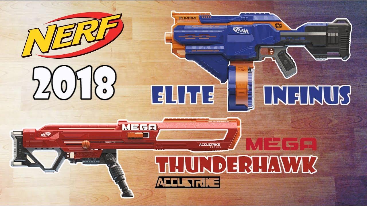 New Nerf Guns 2018   Nerf Infinus & MEGA Accustrike ...