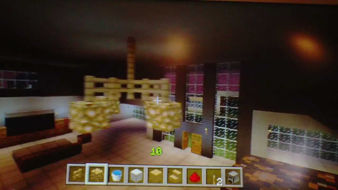 How to make a chandelier in minecraft xbox edition youtube arubaitofo Images