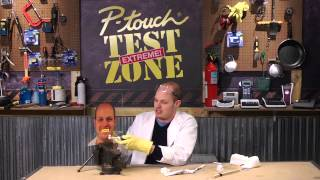 P-touch Test Zone -- Episode 2: The Big Brush Off Test