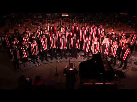 """""""Tres Cantos Nativos dos Indios Krao"""" - Lindblom Varsity Singers"""