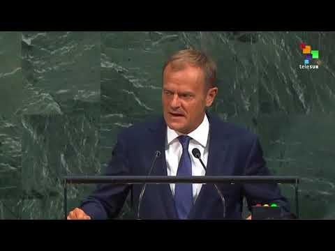 UN Speeches: European Council President Donald Tusk