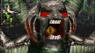 Contra Adventure (PS1) All Bosses (No Damage)