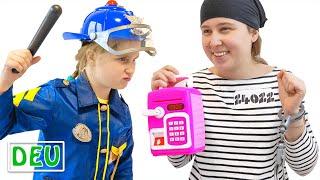 Annie als Polizistin hilft | Einfache Regeln für Kinder
