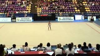 Paula Serrano Alvarez   Campeonato España 2013   Manos Libres