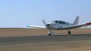 Piper Warrior Crash Landing At Bethlehem Aerodrome