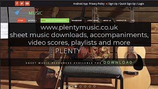 PlentyMusic   Upload News   R. Schumann arr. G. Bizet   6 Studies in Canon  for piano duet