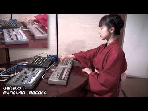 Japanese Techno Girl Love MC-202 & TB-303 & TR-606