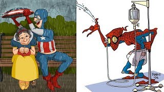 🔥Old Version🔥 Of Your favourite Superheroes & Cartoon Characters. Marvel, DC