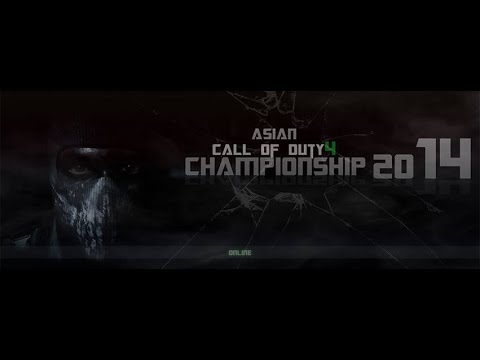 Asian COD4 Championship 2014 Highlights : GenX vs Team.Nex