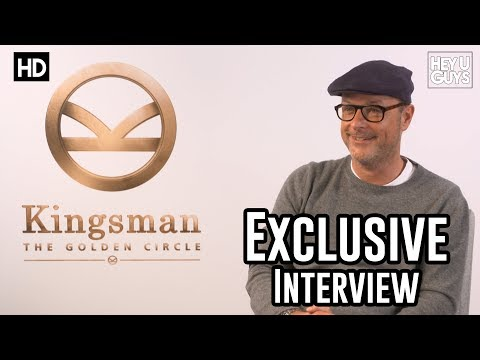Matthew Vaughn | Kingsman The Golden Circle Interview | Kick-Ass 2 | Man Of Steel 2