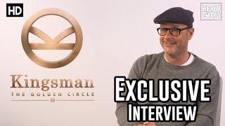 Matthew Vaughn | Kingsman The Golden Circle Interview | Kick-Ass 2 | Man Of Steel 2
