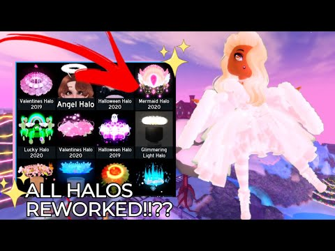 ALL halos got REWORKED in royale high???