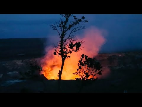 ACTIVE VOLCANO HAWAII !!!!!