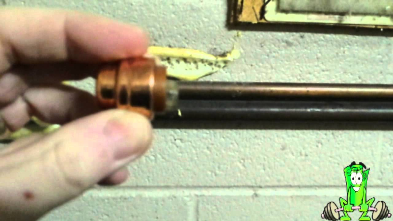 Pushfit Solderless Copper Pipe Fittings - YouTube