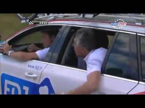 Marc Madiot Encourages Thibaut Pinot