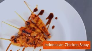 Indonesian Chicken Satay Recipe By Chef Pankaj
