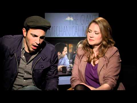 CHRIS MESSINA, JENNA FISCHER GET CANDID IN GIANT MECHANICAL
