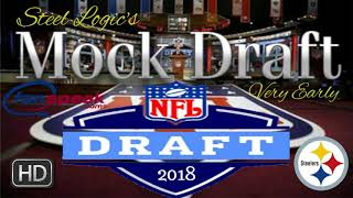 1/4 Season 2018 NFL Mock Draft. Free HD Video