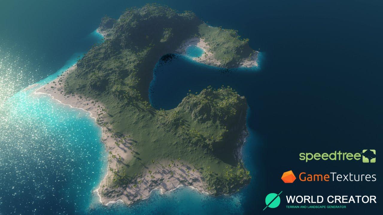 World Creator 2 1 for Unity - Quick Monkey Island Mask
