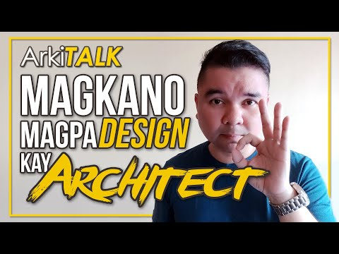 Magkano Magpa-DESIGN kay Architect | How Architects Charge For Their Fee? | ArkiTALK