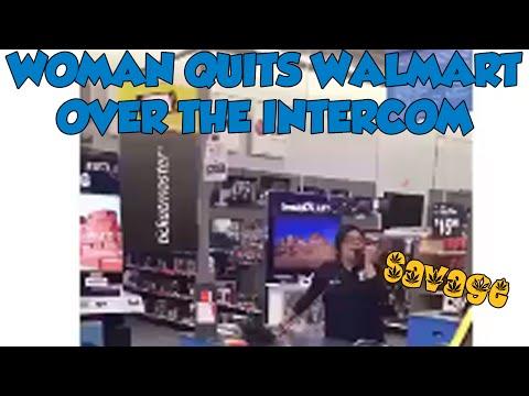 Walmart Employee Quits Like a Savage