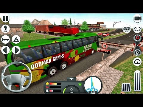 Coach Bus Simulator #30 Crazy Driver! - Bus Game Android IOS gameplay