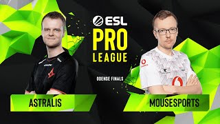 CS:GO - Astralis vs. mousesports [Dust2] Map 3 - Semifinals - ESL Pro League Season 10 Finals