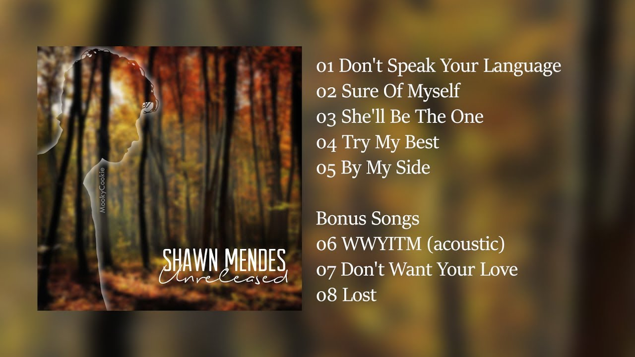 Shawn Mendes: Unreleased Songs Album