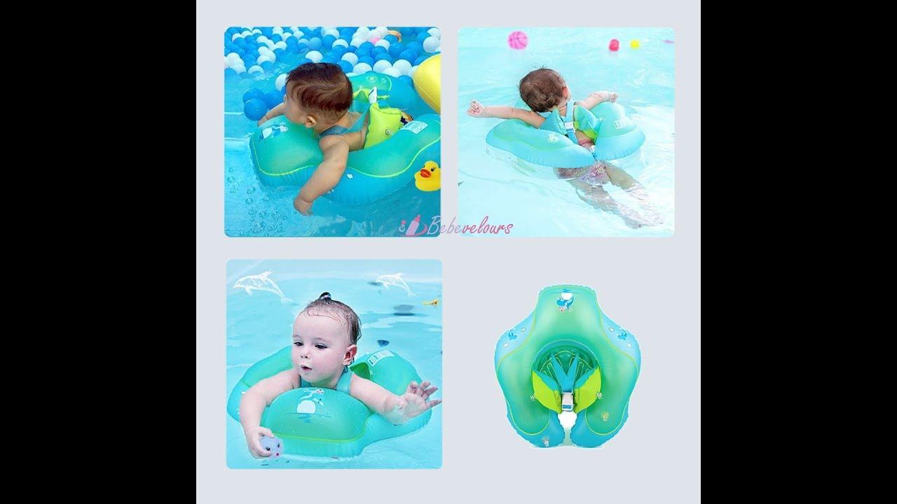 Bouée de natation pour bébé avec sangle de