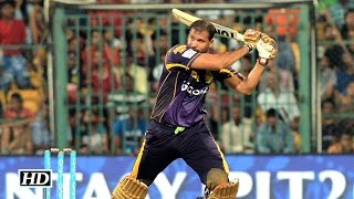 IPL9 KKR vs RCB: Pathan, Russell win match for Knight Riders