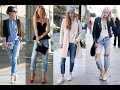 Style of Shoes to Wear with Boyfriend Jeans