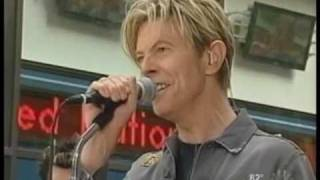 DAVID BOWIE - NEVER GET OLD - LIVE NY 2003
