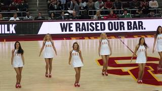 USC Song Girls - Halftime performance USC vs Colorado 1/10/2018