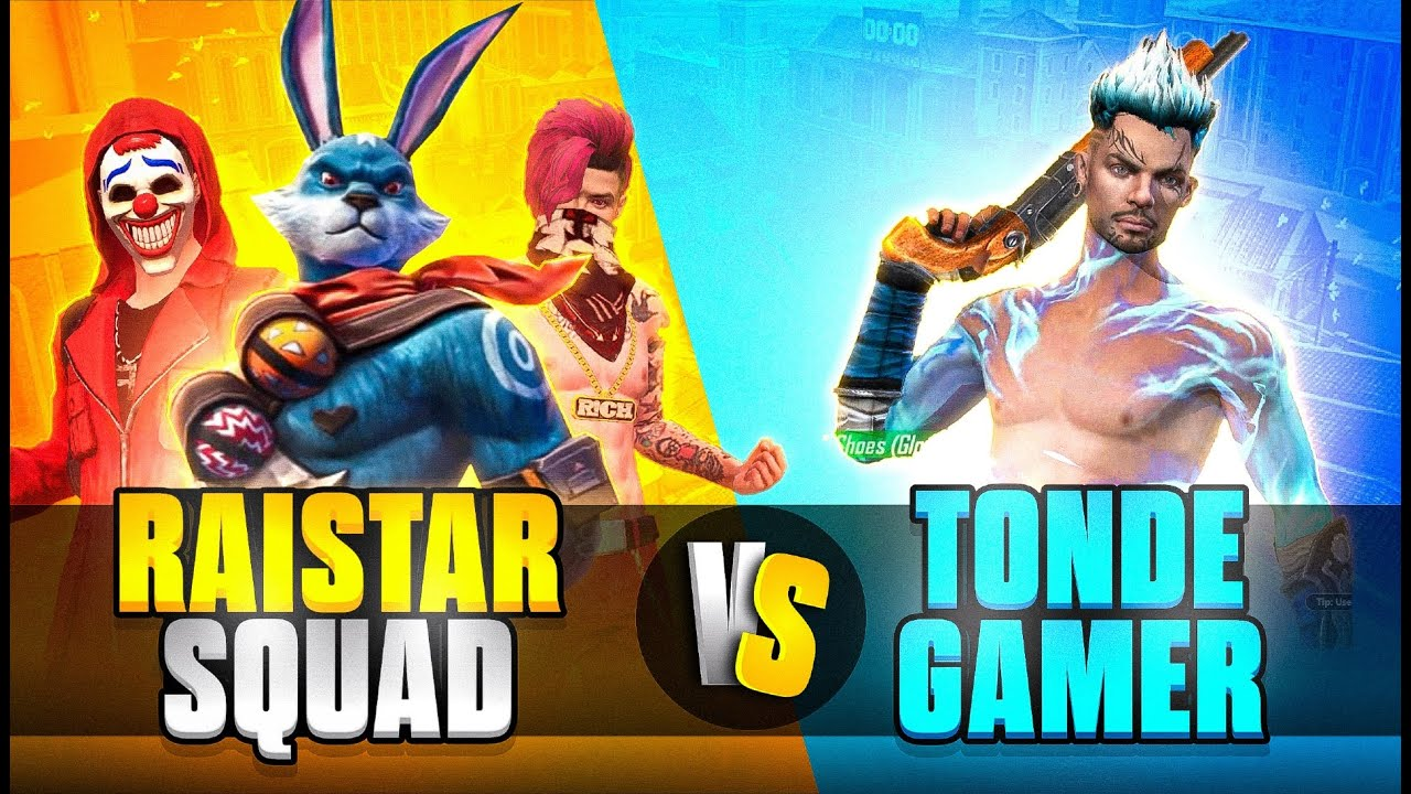 Raistar Fake Squad Vs Tonde Gamer #Shorts - Who Will Win?? Best Clash Battle || Garena Free Fire