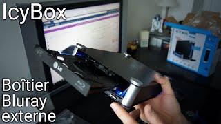 Un boitier externe pour lecteur DVD/Blu-Ray 💿: Icybox IB-550StU3S