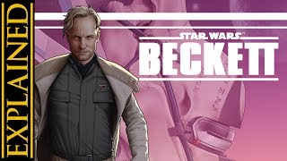 What Beckett and Enfys Nest Did Before Solo: A Star Wars Story - Beckett One Shot Comic Review