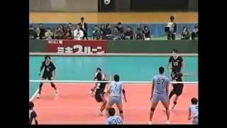 2010年全日本インカレ決勝 中央大vs順天堂大 5セット目