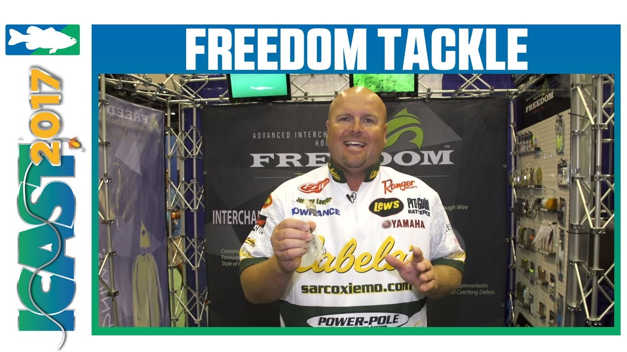 Freedom Tackle Buzzbait with Jeremy Lawyer | ICAST 2017