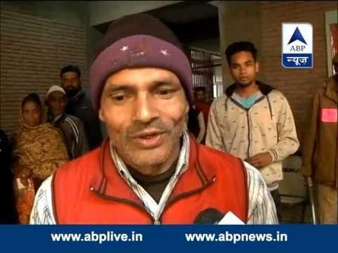 Delhi Polls: Physically challenged voter in Patparganj