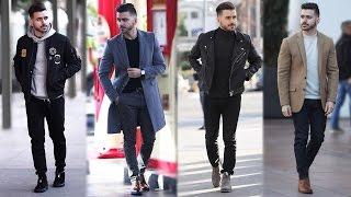 4 Easy Winter Outfits for Men | Men