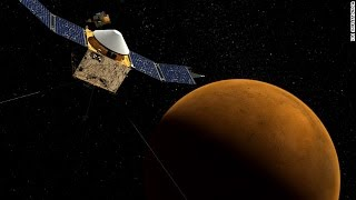 MAVEN spacecraft enters Mars orbit to explore its climate change