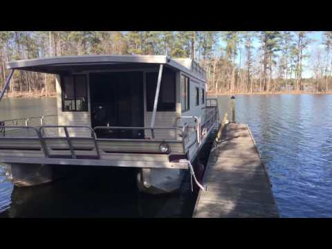 House Boat for sale - 36 Foot Aqua Cruiser