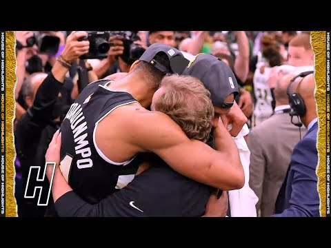 Final Seconds of 2021 NBA Finals Game 6 | Milwaukee Celebration | Suns vs Bucks