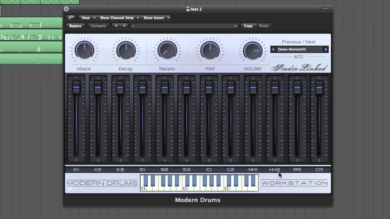 modern drums plugin named 1 vst au hip hop trap rnb dubstep youtube. Black Bedroom Furniture Sets. Home Design Ideas